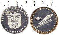 Изображение Монеты Панама 1 бальбоа 1988 Серебро Proof-