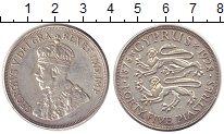 Изображение Монеты Кипр 45 пиастров 1928 Серебро XF Георг V.  50 лет под