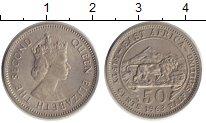 Изображение Монеты Восточная Африка 50 центов 1963 Медно-никель UNC-