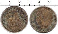 Изображение Монеты Камерун 2 франка 1924 Латунь VF Протекторат  Франции