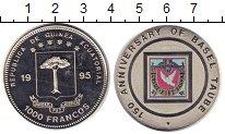 Изображение Монеты Экваториальная Гвинея 1000 франков 1995 Медно-никель Proof-