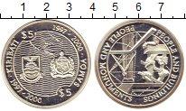 Изображение Монеты Кирибати 5 долларов 1997 Серебро Proof Люди  и  монументы.