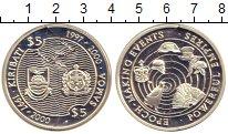 Изображение Монеты Кирибати 5 долларов 1997 Серебро Proof Времена  меняются.