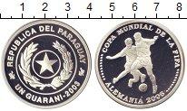 Изображение Монеты Парагвай 1 гарани 2003 Серебро Proof