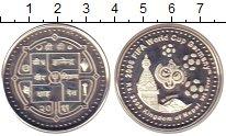 Изображение Монеты Непал 2000 рупий 2006 Серебро Proof Чемпионат  мира  по
