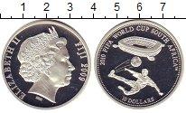 Изображение Монеты Фиджи 10 долларов 2009 Серебро Proof