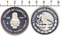 Изображение Монеты Мексика 10 песо 2006 Серебро Proof