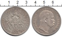 Изображение Монеты Пруссия 1 талер 1870 Серебро XF