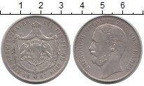 Изображение Монеты Баден 1 талер 1867 Серебро XF