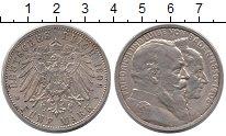 Изображение Монеты Баден 5 марок 1906 Серебро XF