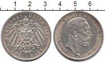 Изображение Монеты Шварцбург-Зондерхаузен 3 марки 1909 Серебро XF Карл  Гюнтер.