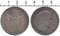Изображение Монеты Гессен 1 талер 1862 Серебро XF