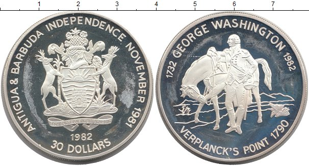 Монеты антигуа и барбуда вензель екатерины 2