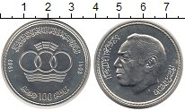 Изображение Монеты Марокко 100 дирхам 1983 Серебро UNC
