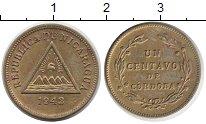 Изображение Монеты Никарагуа 1 сентаво 1943 Латунь XF