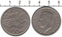 Изображение Монеты Монако 100 франков 1950 Медно-никель XF Принц  Монако  князь