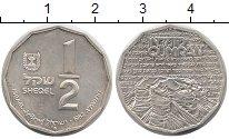 Изображение Монеты Израиль 1/2 шекеля 1982 Серебро XF