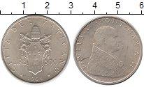 Изображение Монеты Ватикан 500 лир 1964 Серебро UNC