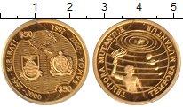 Изображение Монеты Кирибати 50 долларов 1997 Золото Proof Времена  меняются.