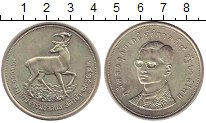 Изображение Монеты Таиланд 100 бат 1974 Серебро UNC-