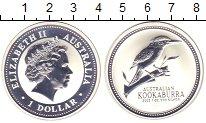 Изображение Монеты Австралия 1 доллар 2003 Серебро Proof- Елизавета II. Кукабу