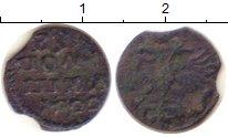 Изображение Монеты Россия 1689 – 1725 Петр I 1 полушка 1722 Медь VF