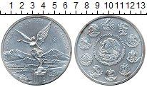 Изображение Монеты Мексика 5 песо 1997 Серебро XF Ангел независимости.