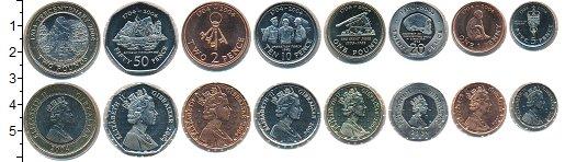 Изображение Наборы монет Гибралтар набор монет 2004 Медно-никель XF