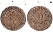 Изображение Монеты Люксембург 10 сантимов 1901 Медно-никель XF