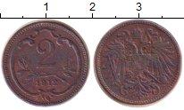 Изображение Монеты Австрия 2 геллера 1912 Медь XF