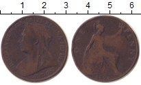 Изображение Монеты Великобритания 1 пенни 1907 Медь VF