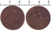 Изображение Монеты Франция 5 сантим 1913 Медь VF