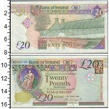 Изображение Банкноты Ирландия 20 фунтов 0  XF