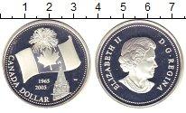 Изображение Монеты Канада 1 доллар 2005 Серебро Proof