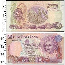 Изображение Банкноты Северная Ирландия 20 фунтов 2007  UNC