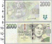 Изображение Банкноты Чехия 2000 крон 2007  UNC