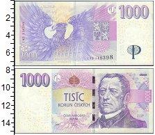 Изображение Банкноты Чехия 1000 крон 2008  UNC