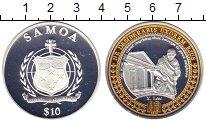 Изображение Монеты Самоа 10 долларов 2010 Серебро Proof