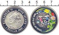 Монета Ниуэ 1 доллар Серебро 2007 Proof фото