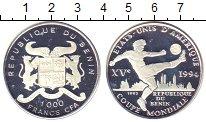 Изображение Монеты Бенин 1000 франков 1992 Серебро Proof