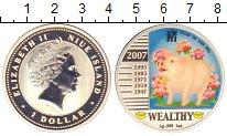 Изображение Монеты Ниуэ 1 доллар 2007 Серебро Proof-
