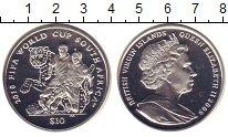 Изображение Монеты Виргинские острова 10 долларов 2009 Медно-никель Proof