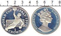 Изображение Монеты Гибралтар 1 крона 1990 Медно-никель Proof