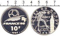 Изображение Монеты Франция 10 франков 1997 Серебро Proof-