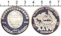 Изображение Монеты Северная Корея 250 вон 1997 Серебро Proof-