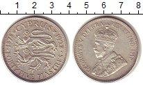 Изображение Монеты Кипр 45 пиастров 1928 Серебро XF