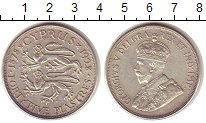 Изображение Монеты Кипр 45 пиастров 1928 Серебро XF Британский  протекто