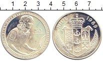 Изображение Монеты Ниуэ 50 долларов 1989 Серебро