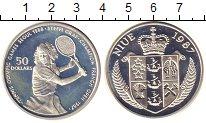 Изображение Монеты Ниуэ 50 долларов 1987 Серебро