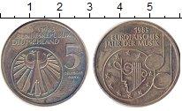 Изображение Монеты Германия ФРГ 5 марок 1985 Медно-никель XF